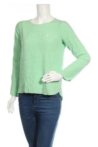 Γυναικεία μπλούζα Tom Tailor, Μέγεθος XS, Χρώμα Πράσινο, Βισκόζη, Τιμή 8,89€