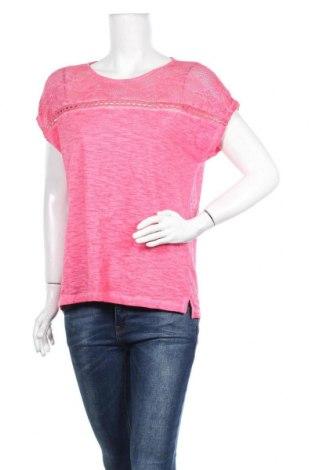 Γυναικεία μπλούζα Tom Tailor, Μέγεθος S, Χρώμα Ρόζ , Βαμβάκι, Τιμή 4,82€