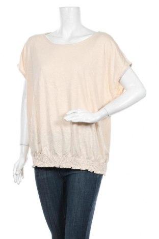 Γυναικεία μπλούζα Tom Tailor, Μέγεθος 3XL, Χρώμα  Μπέζ, 50% βαμβάκι, 50% μοντάλ, Τιμή 5,43€