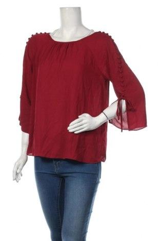 Дамска блуза Zac & Rachel, Размер M, Цвят Червен, 100% полиестер, Цена 7,85лв.