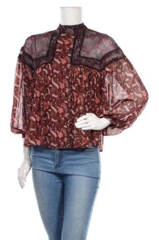 Γυναικεία μπλούζα Zara, Μέγεθος M, Χρώμα Πολύχρωμο, 99% πολυεστέρας, 1% μεταλλικά νήματα, Τιμή 17,32€