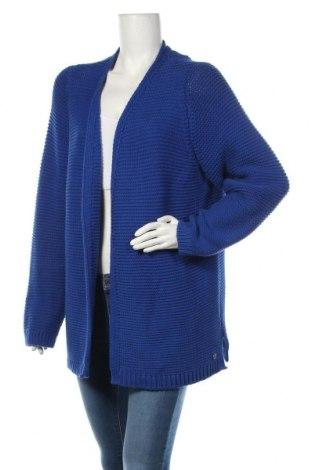 Dámsky kardigán S.Oliver, Velikost XL, Barva Modrá, 74% bavlna, 26% polyester, Cena  1043,00Kč