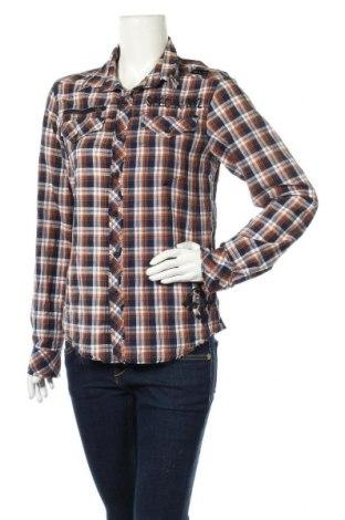 Дамска риза Affliction, Размер S, Цвят Многоцветен, Памук, Цена 11,34лв.