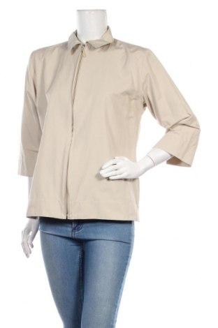 Γυναικείο πουκάμισο Tom Tailor, Μέγεθος L, Χρώμα  Μπέζ, 53% βαμβάκι, 47% πολυεστέρας, Τιμή 11,14€