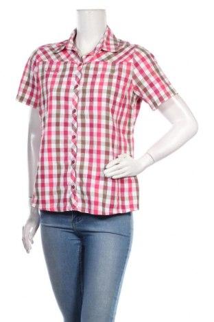 Дамска риза Vaude, Размер M, Цвят Многоцветен, 53% памук, 47% полиестер, Цена 8,80лв.