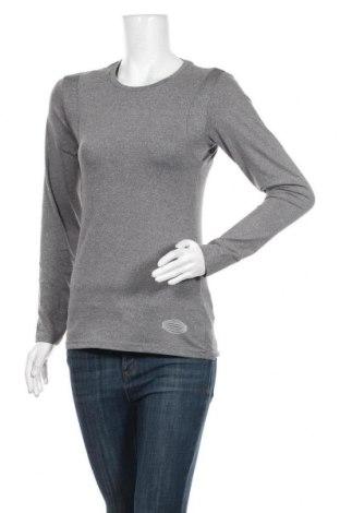 Дамска спортна блуза Active By Tchibo, Размер S, Цвят Сив, 90% полиестер, 10% еластан, Цена 13,39лв.