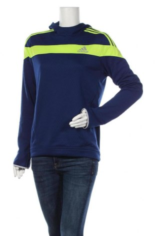 Дамска спортна блуза Adidas, Размер M, Цвят Син, Полиестер, Цена 34,97лв.