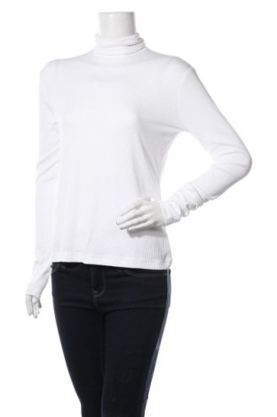 Bluză trening de femei Reebok, Mărime M, Culoare Alb, 92% poliester, 8% elastan, Preț 97,04 Lei