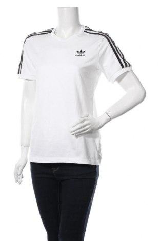Дамска тениска Adidas Originals, Размер M, Цвят Бял, Памук, Цена 36,57лв.