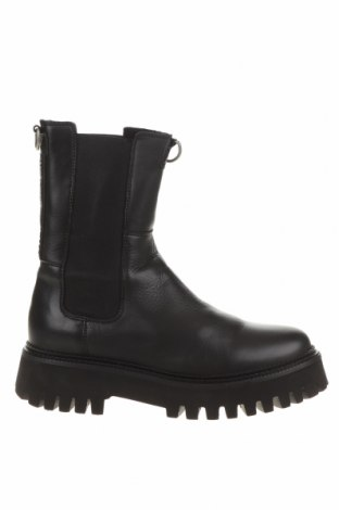 Дамски боти Bronx, Размер 39, Цвят Черен, Естествена кожа, Цена 168,35лв.