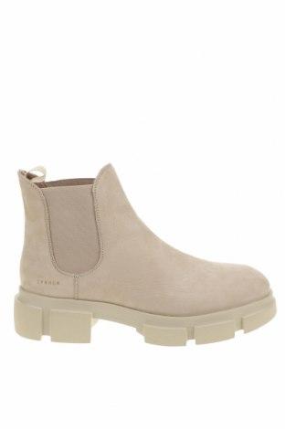 Дамски боти Copenhagen Shoes, Размер 39, Цвят Бежов, Естествена кожа, Цена 130,05лв.