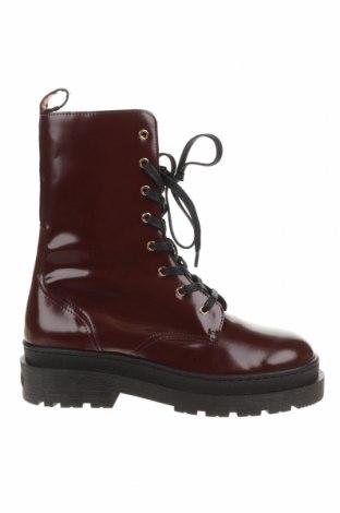 Dámské boty  Maison Scotch, Velikost 41, Barva Červená, Pravá kůže, Cena  2537,00Kč