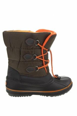 Γυναικείες μπότες Kimberfeel, Μέγεθος 39, Χρώμα Πράσινο, Κλωστοϋφαντουργικά προϊόντα, Τιμή 25,08€