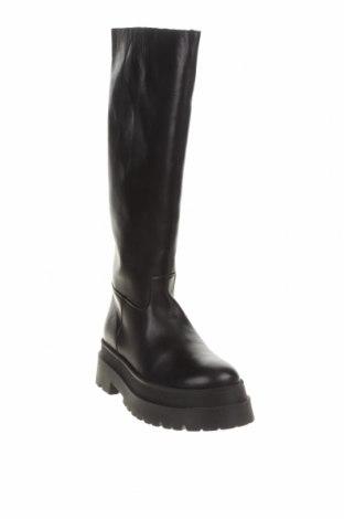 Дамски ботуши LeGer By Lena Gercke, Размер 39, Цвят Черен, Естествена кожа, Цена 141,75лв.