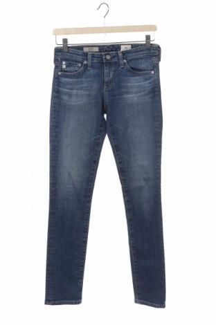 Дамски дънки Adriano Goldschmied, Размер XS, Цвят Син, 98% памук, 2% полиуретан, Цена 27,60лв.