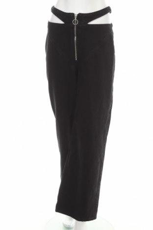 Дамски дънки Bershka, Размер M, Цвят Черен, Памук, Цена 36,02лв.