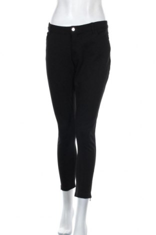 Дамски дънки Body Flirt, Размер XL, Цвят Черен, 64% вискоза, 33% полиамид, 3% еластан, Цена 27,93лв.