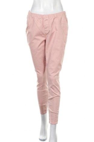 Дамски дънки C&A, Размер L, Цвят Розов, 98% памук, 2% еластан, Цена 7,61лв.