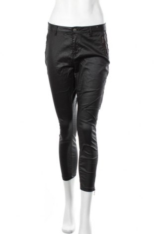 Дамски дънки Clothing & Co, Размер M, Цвят Черен, 98% памук, 2% еластан, Цена 23,21лв.