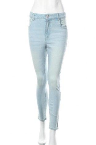 Дамски дънки Cotton On, Размер M, Цвят Син, 83% памук, 12% полиестер, 2% еластан, Цена 20,58лв.