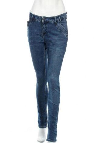 Дамски дънки Denim Hunter, Размер M, Цвят Син, 98% памук, 2% еластан, Цена 38,22лв.