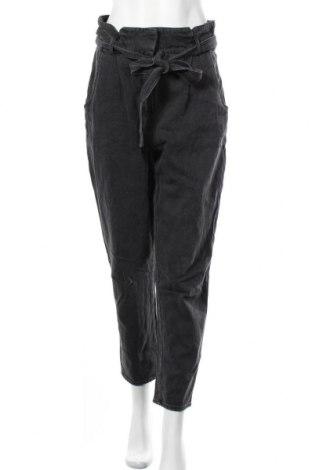 Дамски дънки H&M, Размер M, Цвят Сив, Памук, Цена 33,60лв.