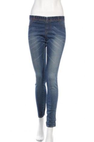 Дамски дънки H&M Divided, Размер M, Цвят Син, 98% памук, 2% еластан, Цена 12,80лв.
