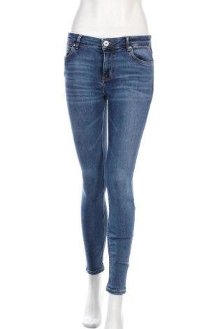 Дамски дънки Hallhuber, Размер S, Цвят Син, 92% памук, 8% еластан, Цена 18,48лв.