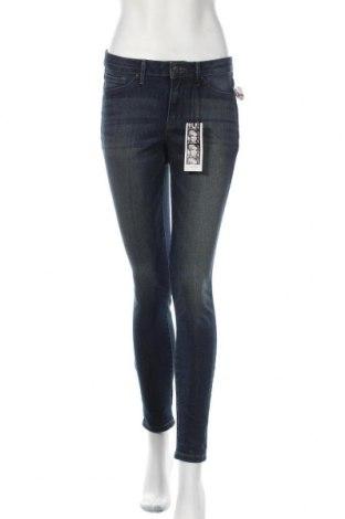 Дамски дънки Jessica Simpson, Размер M, Цвят Син, 54% памук, 23% вискоза, 22% полиестер, 1% еластан, Цена 45,36лв.