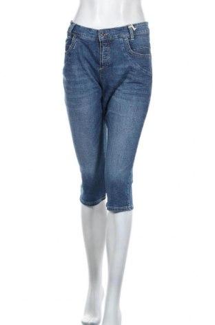 Дамски дънки Mac, Размер L, Цвят Син, 99% памук, 1% еластан, Цена 25,07лв.