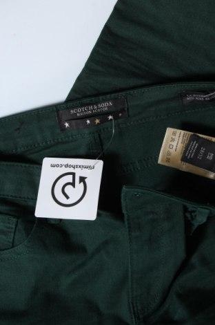 Дамски дънки Maison Scotch, Размер M, Цвят Зелен, 59% памук, 20% вискоза, 9% модал, 9% полиестер, 3% еластан, Цена 134,25лв.