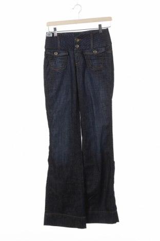 Blugi de femei Miss Sixty, Mărime S, Culoare Albastru, 98% bumbac, 2% elastan, Preț 48,86 Lei