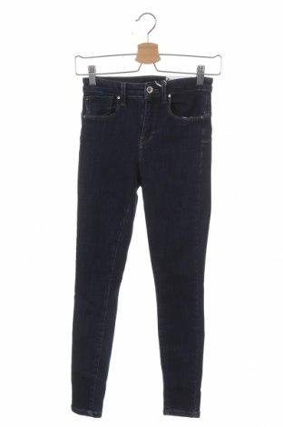 Дамски дънки ONLY, Размер S, Цвят Син, 92% памук, 6% полиестер, 2% еластан, Цена 24,15лв.