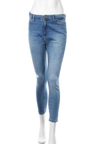 Дамски дънки ONLY, Размер L, Цвят Син, 98% памук, 2% еластан, Цена 24,99лв.