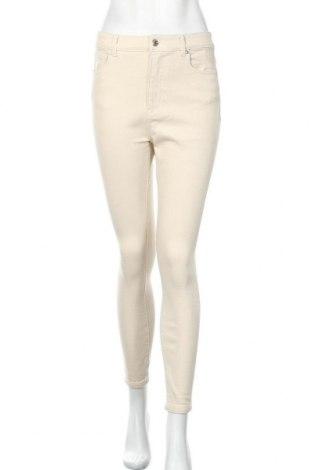Дамски дънки ONLY, Размер M, Цвят Бежов, 94% памук, 4% полиестер, 2% еластан, Цена 31,05лв.