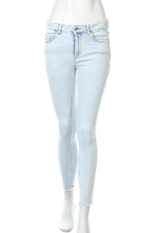 Дамски дънки ONLY, Размер M, Цвят Син, 92% памук, 6% други тъкани, 2% еластан, Цена 20,01лв.