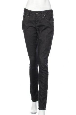 Дамски дънки Object, Размер L, Цвят Черен, 98% памук, 2% еластан, Цена 24,99лв.