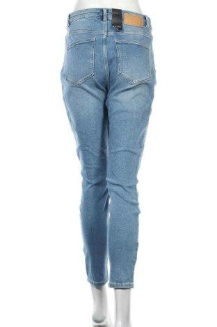 Дамски дънки Pieces, Размер XL, Цвят Син, 67% памук, 31% памук, 2% еластан, Цена 27,56лв.