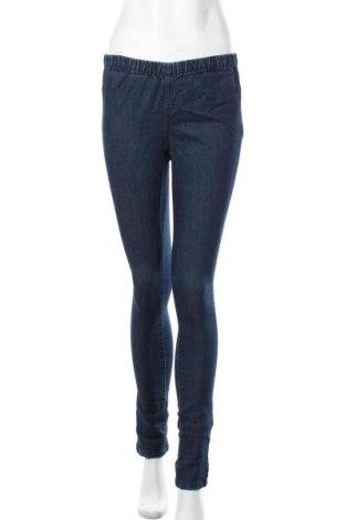 Дамски дънки Pieces, Размер M, Цвят Син, 72% памук, 26% полиестер, 2% еластан, Цена 13,86лв.