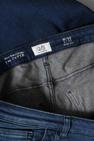 Дамски дънки Q/S by S.Oliver, Размер XL, Цвят Син, 82% памук, 16% полиестер, 2% еластан, Цена 64,50лв.