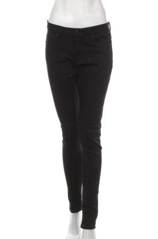 Дамски дънки Q/S by S.Oliver, Размер M, Цвят Черен, 45% вискоза, 28% полиестер, 24% памук, 3% еластан, Цена 28,38лв.
