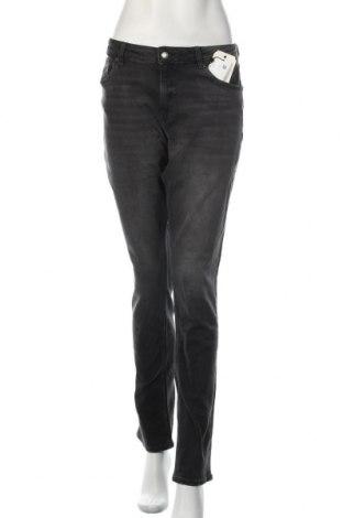 Дамски дънки Q/S by S.Oliver, Размер L, Цвят Сив, 99% памук, 1% еластан, Цена 74,25лв.