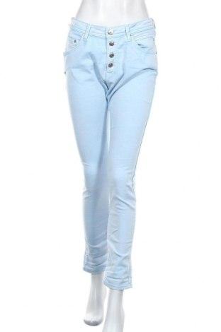 Дамски дънки Replay, Размер M, Цвят Син, 86% памук, 10% полиестер, 4% еластан, Цена 50,37лв.