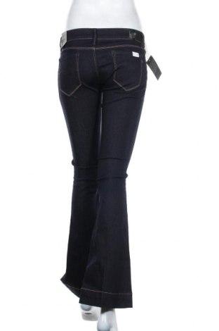 Дамски дънки Replay, Размер S, Цвят Син, 90% памук, 8% полиестер, 2% еластан, Цена 66,92лв.