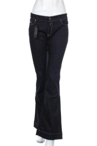 Дамски дънки Replay, Размер L, Цвят Син, 90% памук, 8% полиестер, 2% еластан, Цена 66,92лв.