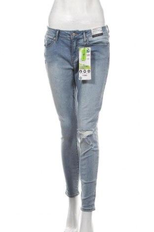 Дамски дънки Repreve, Размер M, Цвят Син, 75% памук, 23% полиестер, 2% еластан, Цена 34,44лв.