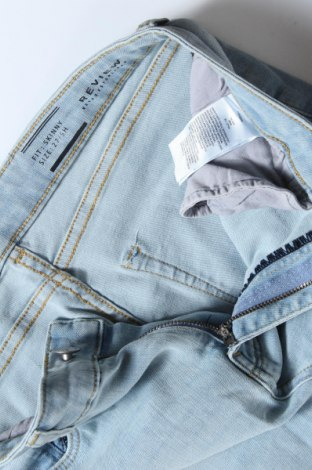 Дамски дънки Review, Размер S, Цвят Син, 65% памук, 20% вискоза, 13% полиестер, 2% еластан, Цена 22,68лв.