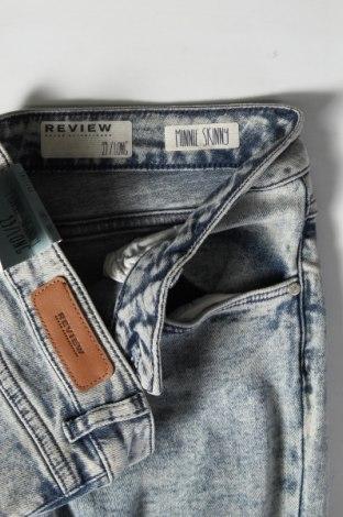 Дамски дънки Review, Размер M, Цвят Син, 98% памук, 2% еластан, Цена 24,15лв.