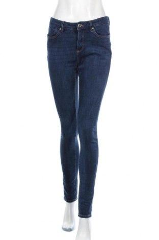 Дамски дънки S.Oliver, Размер S, Цвят Син, 47% памук, 37% лиосел, 13% полиестер, 3% еластан, Цена 28,20лв.
