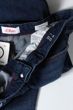 Дамски дънки S.Oliver, Размер L, Цвят Син, 47% памук, 37% лиосел, 13% полиестер, 3% еластан, Цена 28,20лв.